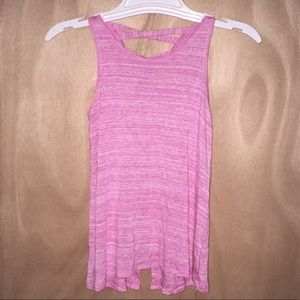 Athletic works size 7/8 pink tank top.